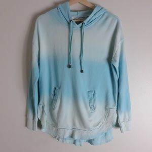 Ocean Drive| Dip Dyed Hooded Sweatshirt